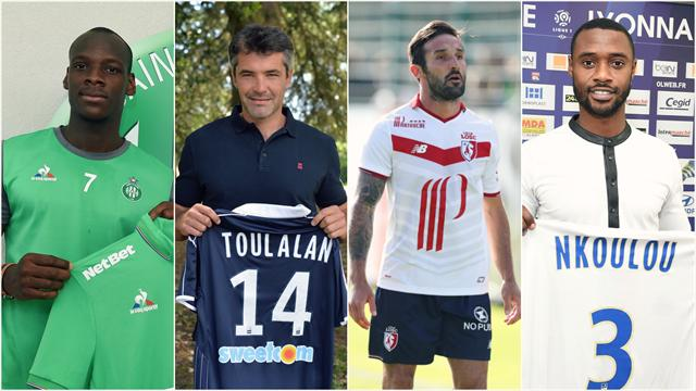 Pendant l'Euro, les clubs de L1 n'ont pas chômé : voici leurs 7 meilleures affaires