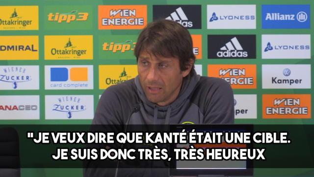 Conte : «J'aime les joueurs comme Kanté»