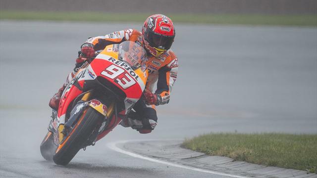 Márquez saldrá primero en el GP de Alemania