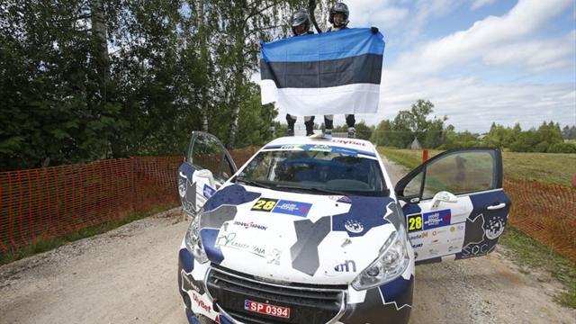 Estonian ace Niinemäe wins ERC Junior at home
