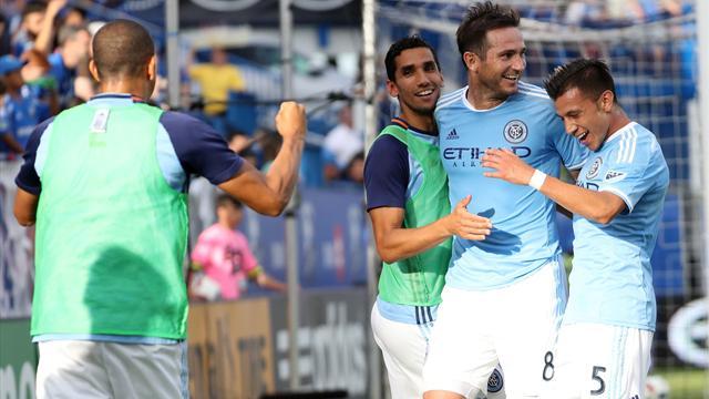 Lampard outshines Drogba in battle of Chelsea 'old boys'