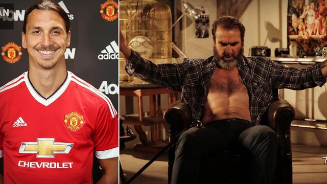 """""""Je suis le Dieu de Manchester"""" : La réponse de Zlatan au commissionner Cantona"""