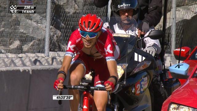 Блестящий финиш Закарина на 17-м этапе «Тур де Франс», от которого голос сорвался бы даже у робота