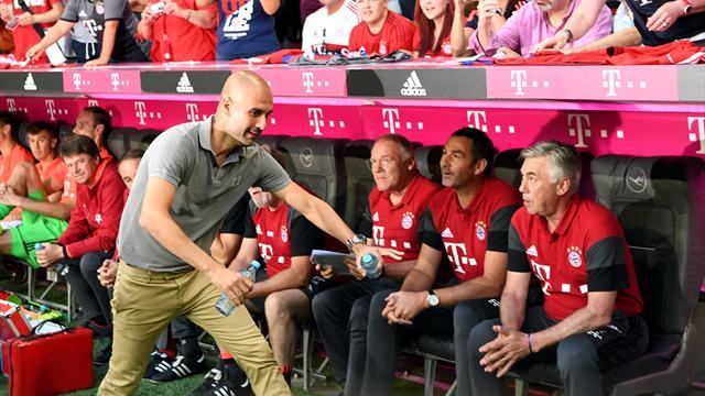 Le Bayern d'Ancelotti prend le meilleur sur le City de Guardiola