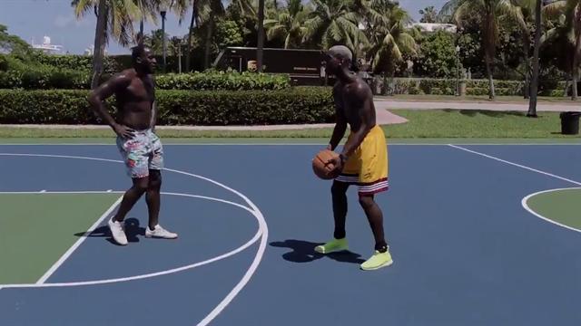 Et pendant ce temps-là, Pogba défie Lukaku sur un playground de Miami