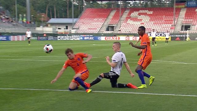 U19-EM: Ochs bringt DFB-Team mit 1:0 in Führung