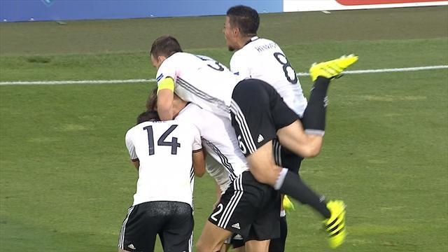 U19-EM: 2:2! Serdar rettet DFB-Team in die Verlängerung