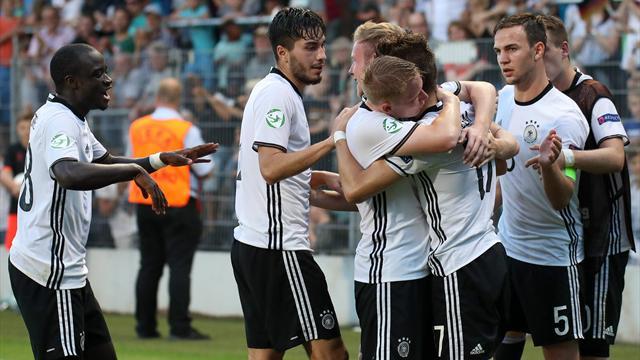 Was für ein Krimi! Deutsche U19-Youngster lösen WM-Ticket