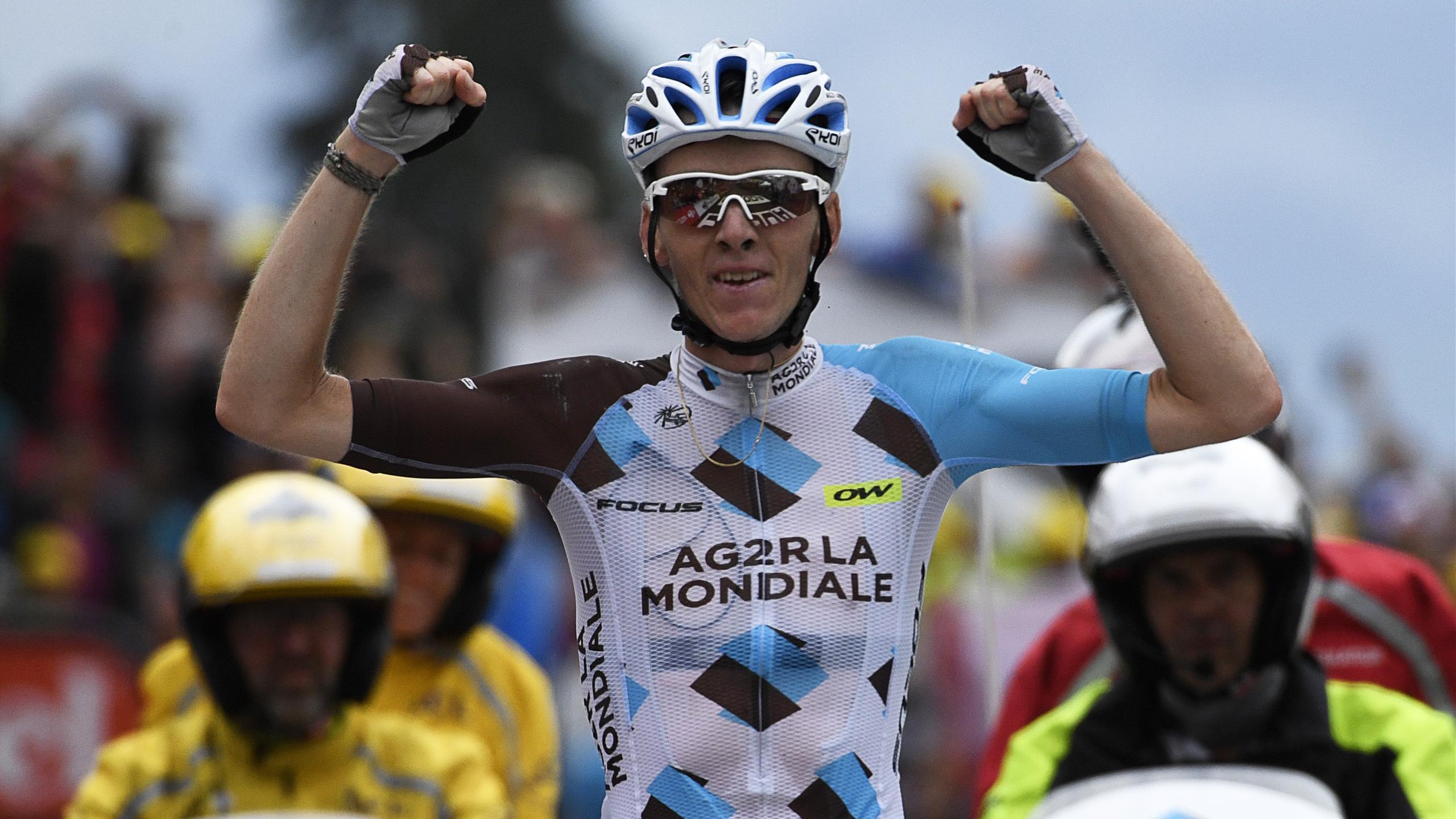 Romain Bardet (AG2R La Mondiale) lors de la 19e étape