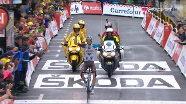 Финиш Барде, который вышел сухим из самого сырого этапа «Тур де Франс»