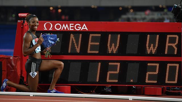 12''20 sur 100m haies : Harrison a fait tomber un record du monde historique !