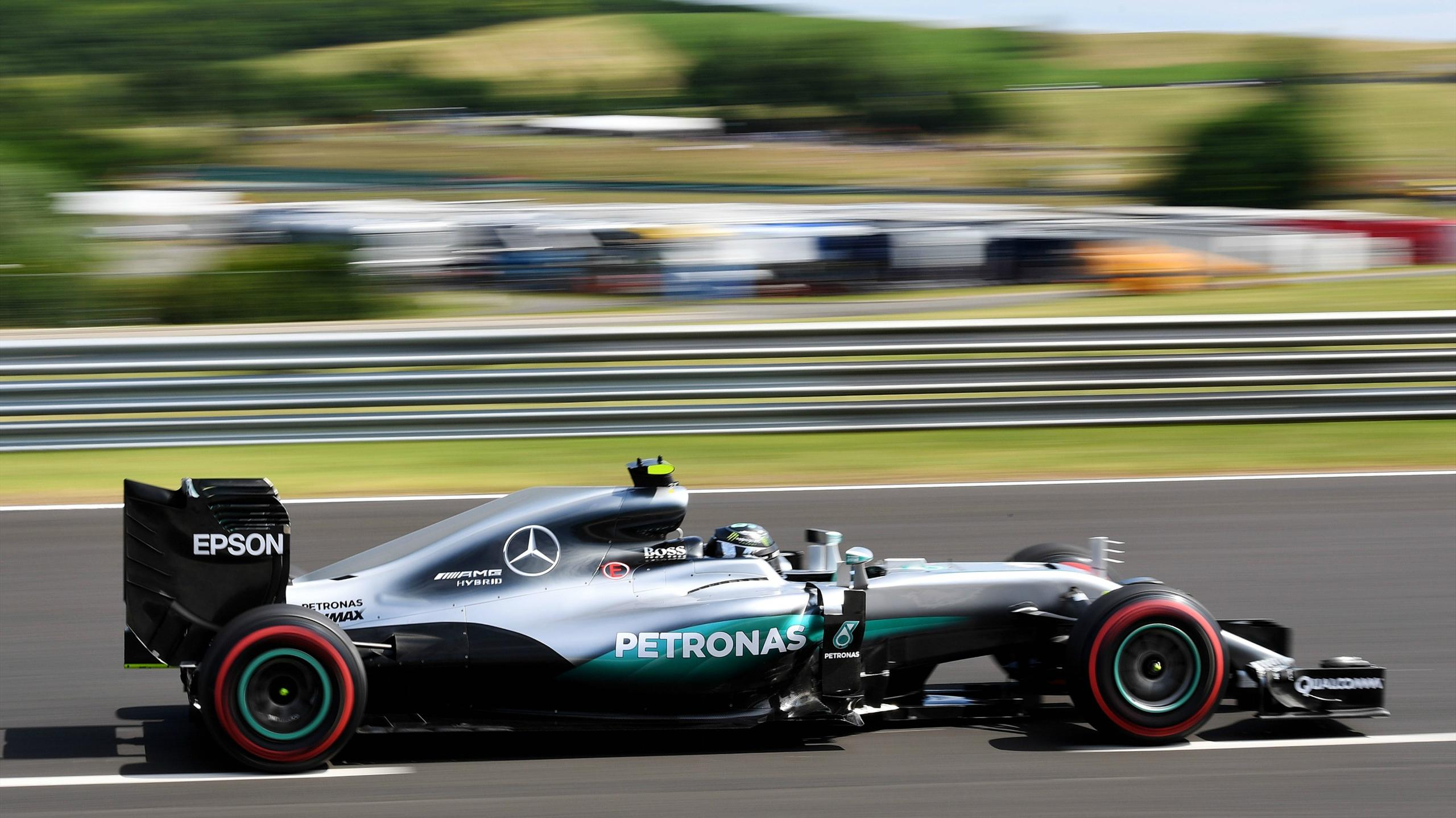 Nico Rosberg (Mercedes) au Grand Prix de Hongrie 2016