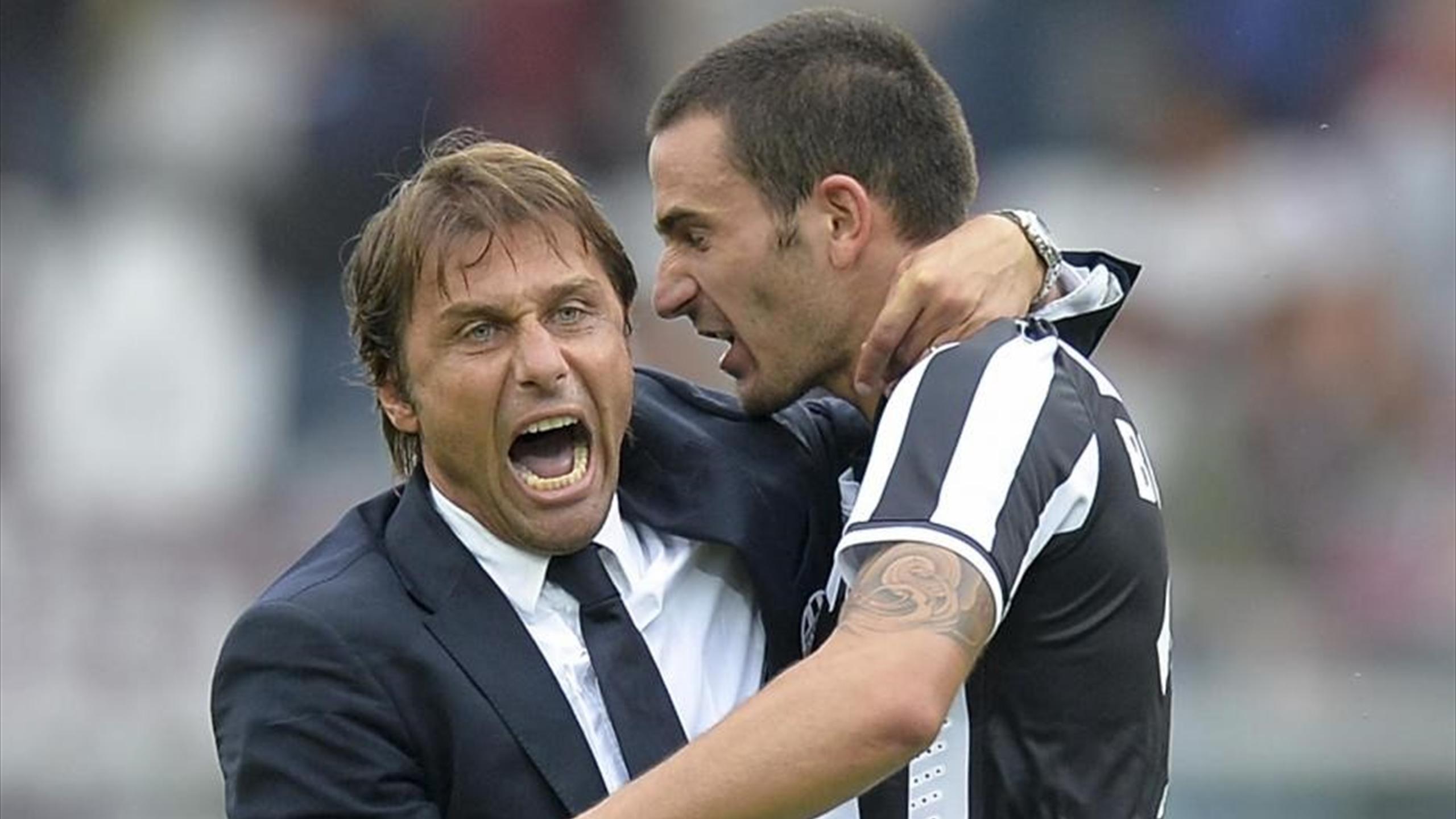 Conte Bonucci - Torino-Juventus -Serie A 2013/2014 - LaPresse