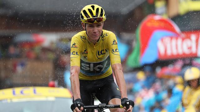 Фрум выиграл третий «Тур де Франс» в карьере