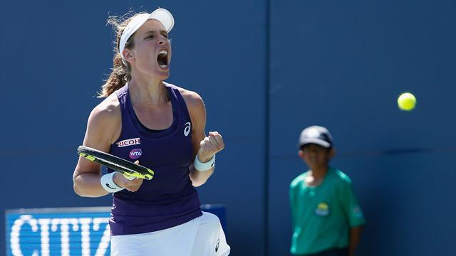 Конта обыграла Винус и завоевала первый титул в карьере