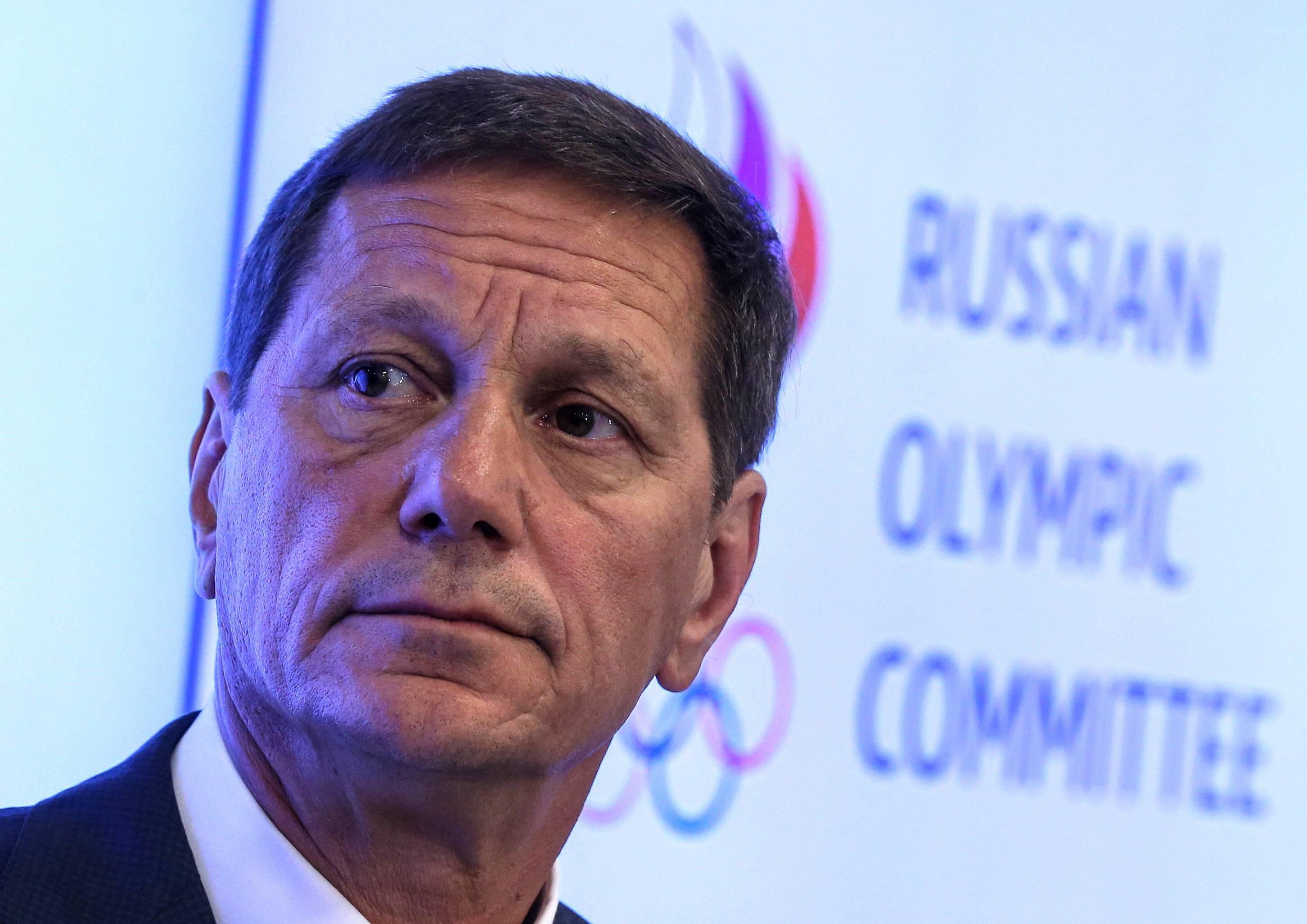 Alexander Zhukov vom russischen Olympischen Kommitee