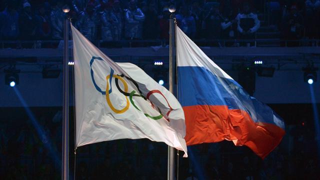 Российский флаг все-таки показали зрителям Олимпиады. Правда, только корейским зрителям