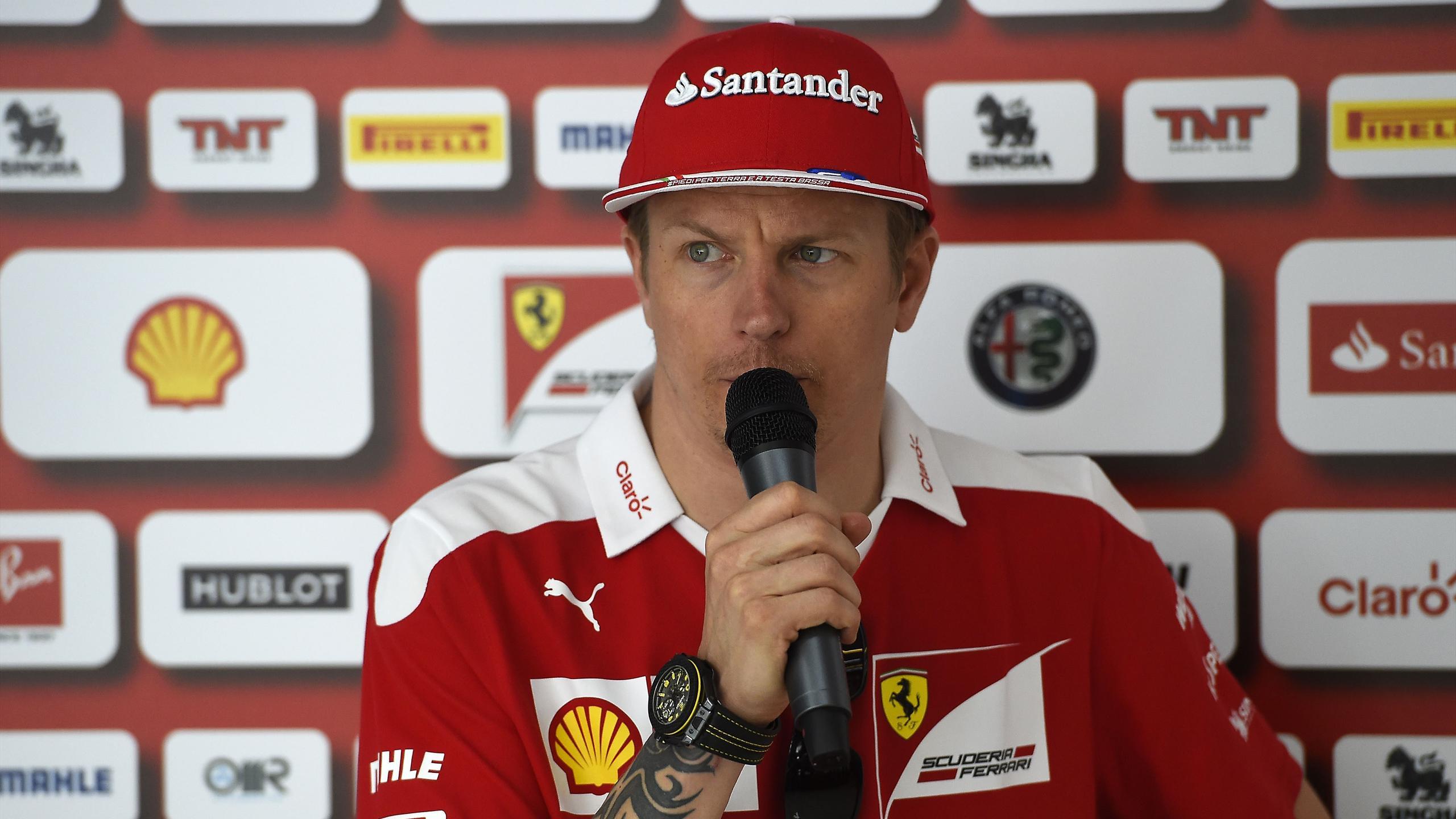 Kimi Räikkönen (Ferrari) au Grand Prix de Hongrie 2016