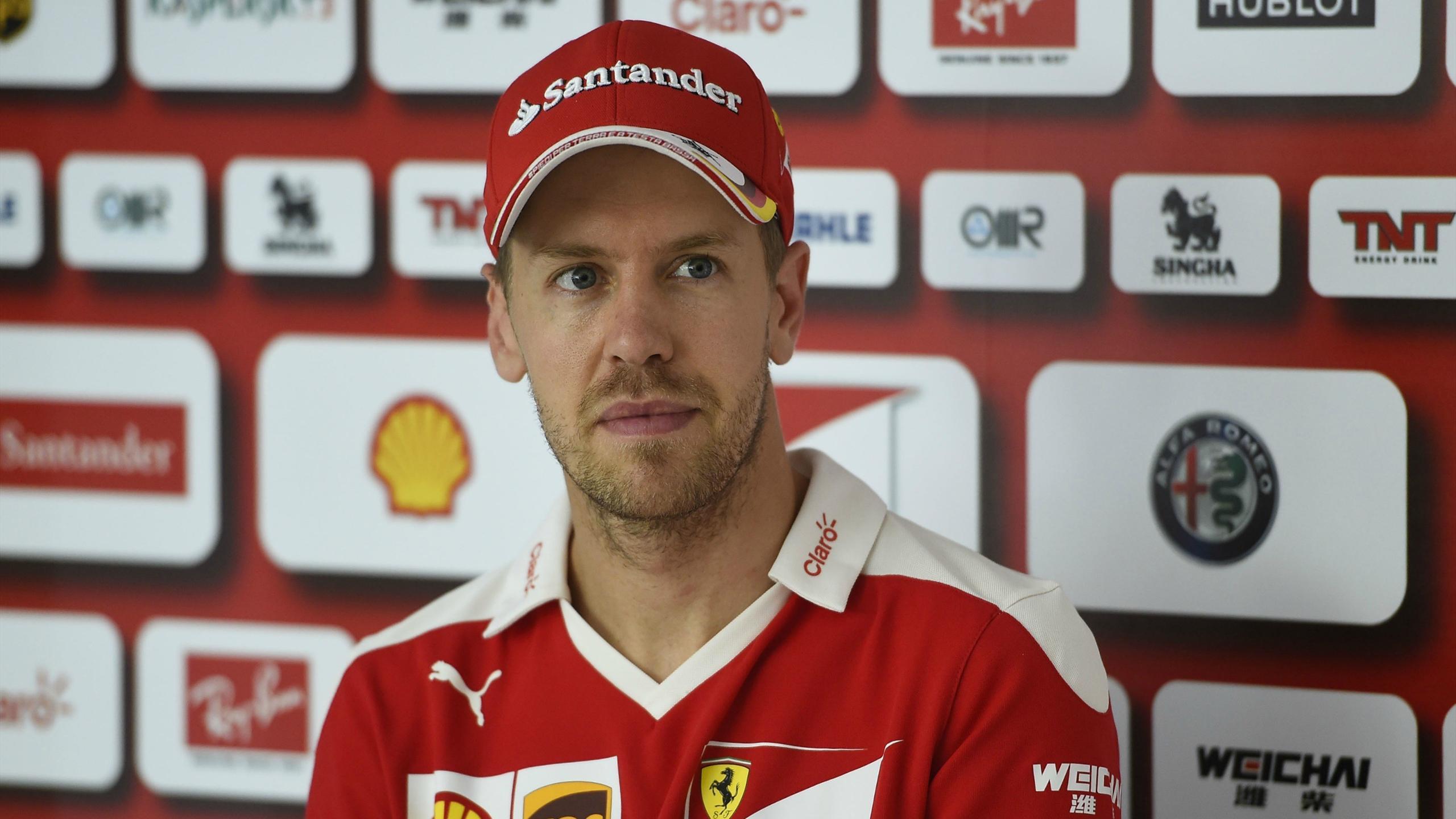 Sebastian Vettel (Ferrari) au Grand Prix de Hongrie 2016