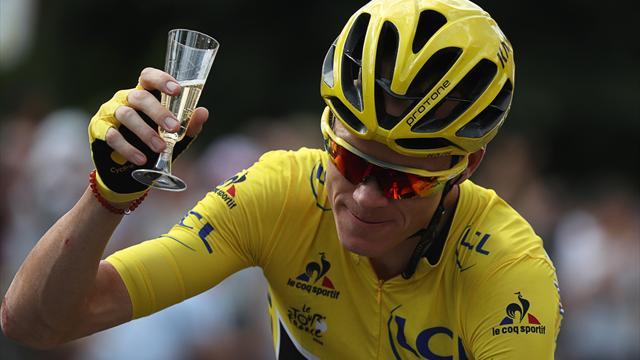 Фрум нарушил запрет и использовал мобильный телефон во время последнего этапа «Тур де Франс»