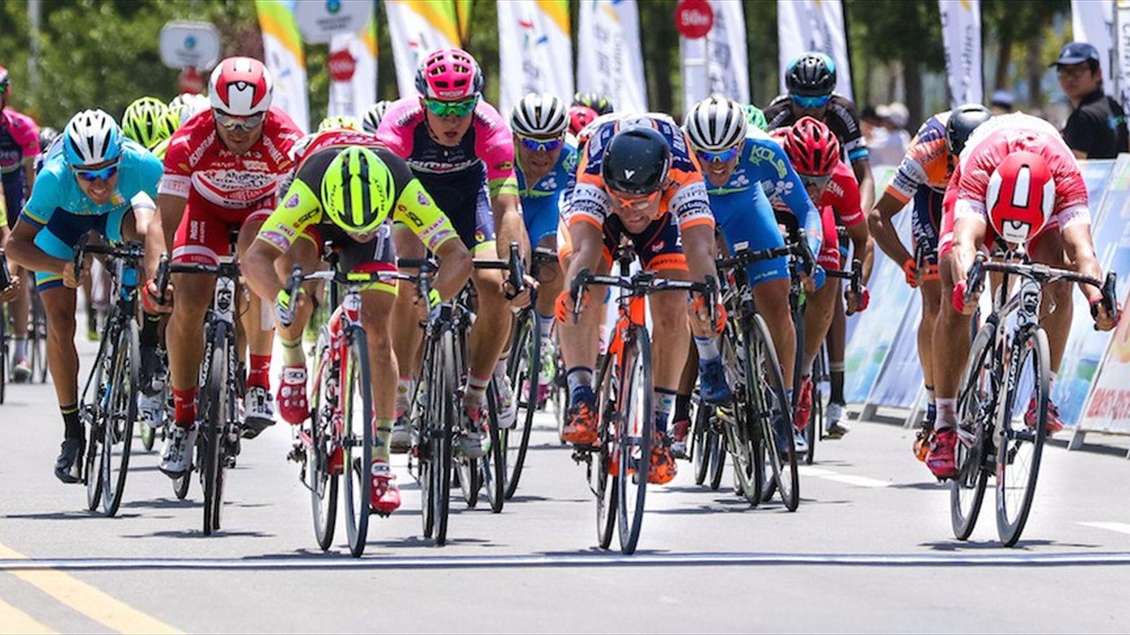 Thumbnail Credit (eurosport.co.uk): Italians and former teammates Nicolas Marini (Nippo-Vini Fantini) and Jakub Mareczko (Wilier Triestina-Southeast) battle to photo finish on stage 8 - Photo: Adrian Hoe / Tour of Qinghai Lake - Eurosport