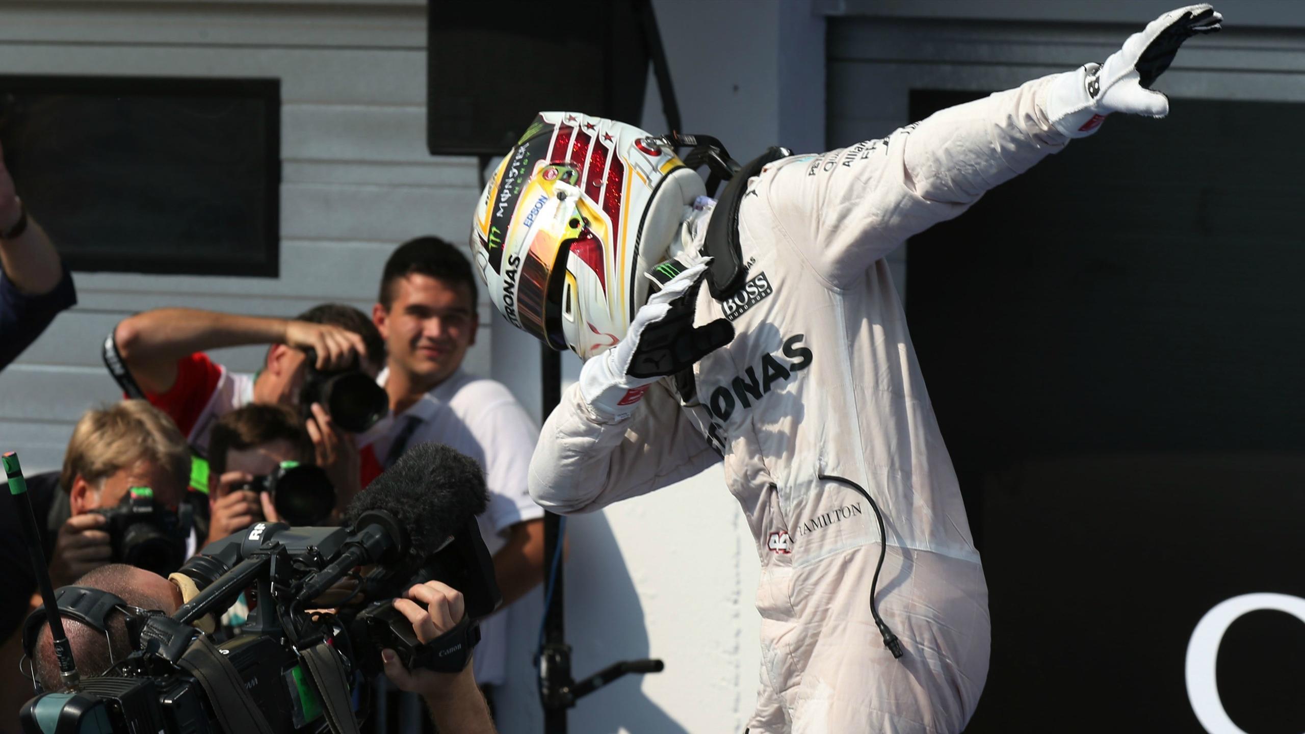 Lewis Hamilton (Mercedes) au Grand Prix de Hongrie 2016