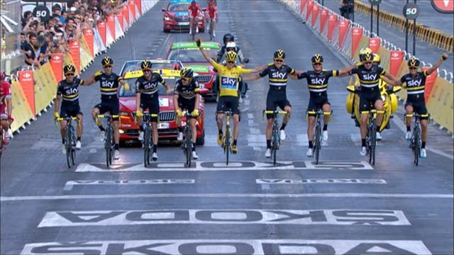 Мощный рывок Грайпеля на финише последнего этапа «Тур де Франс»