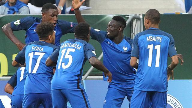 Frankreichs U19-Junioren zum dritten Mal Europameister