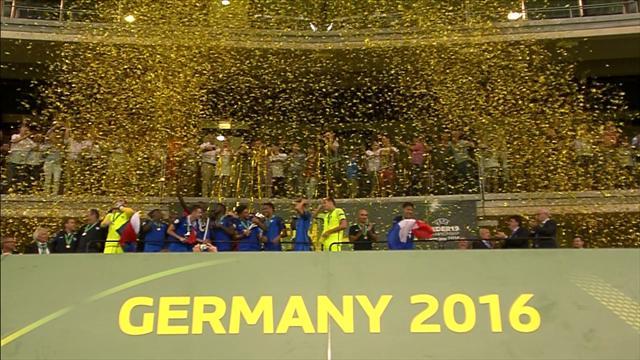 U19-EM-Highlights: Frankreich gewinnt den Titel