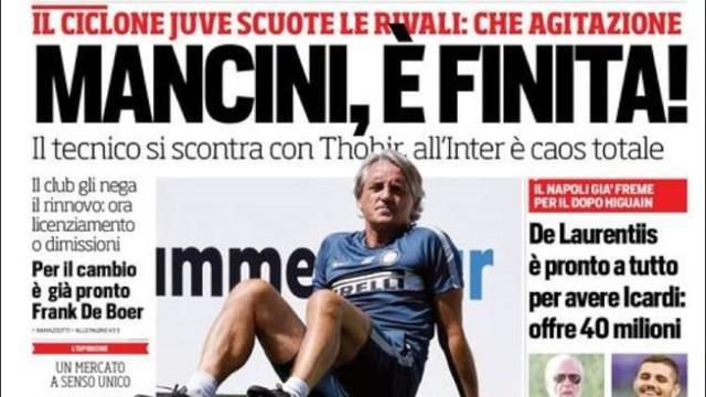 Thohir: è Mancini il nostro allenatore