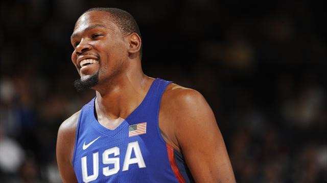 Баскетболист Дюрант стал самым высокооплачиваемым спортсменом ОИ-2016 поверсии Forbes