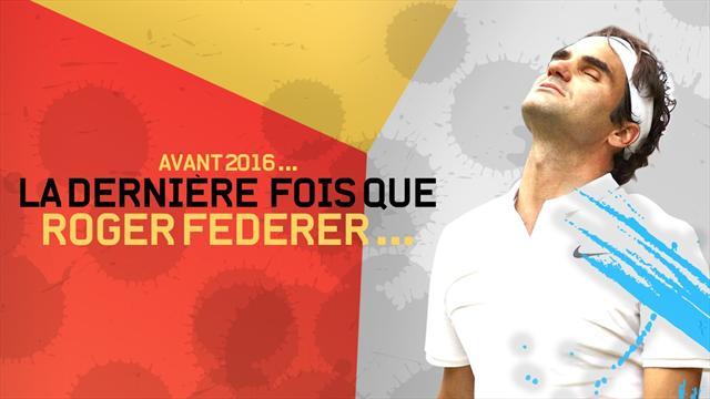 Federer : les 4 stats qui marquent la fin d'une époque