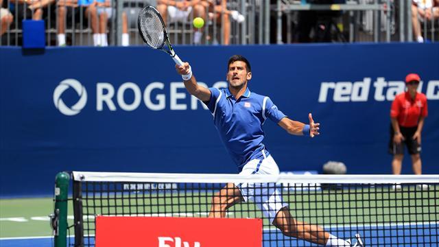 Masters 1000 Toronto, Djokovic-Muller: Se mete en octavos con problemas (7-5 y 7-6 (3))