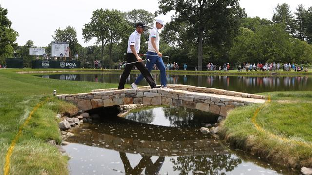 Walker's 65 sets US PGA Championship pace, Day and Stenson lurk at Baltusrol