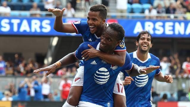 Estrelas da MLS vs Real Madrid, jogão imperdível no Eurosport