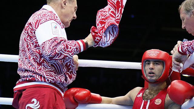 Миша Алоян обеспечил сборной Российской Федерации медаль вбоксе