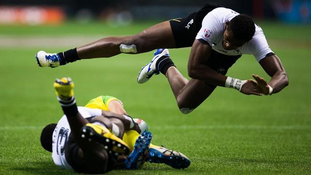 Touches et mêlées à 3, transformations, arbitres d'en-but… les règles du rugby à 7 expliquées
