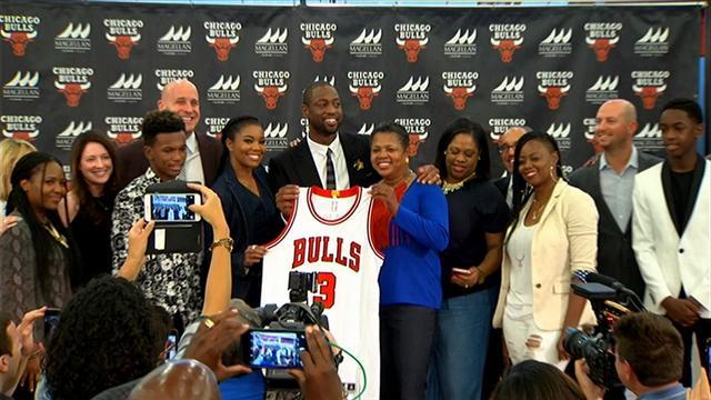 """Pour Wade, signer aux Bulls est """"un rêve qui devient réalité"""""""