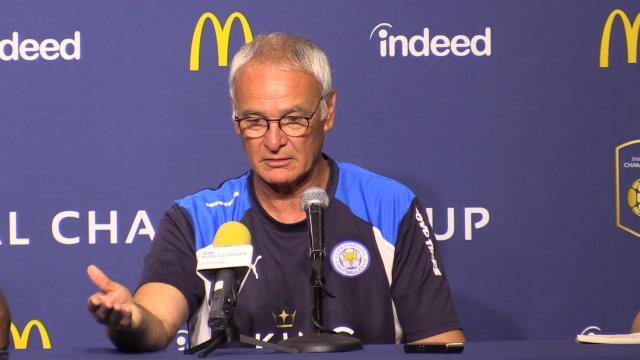 Ranieri : «Avec Mahrez, on ne parle jamais des rumeurs»