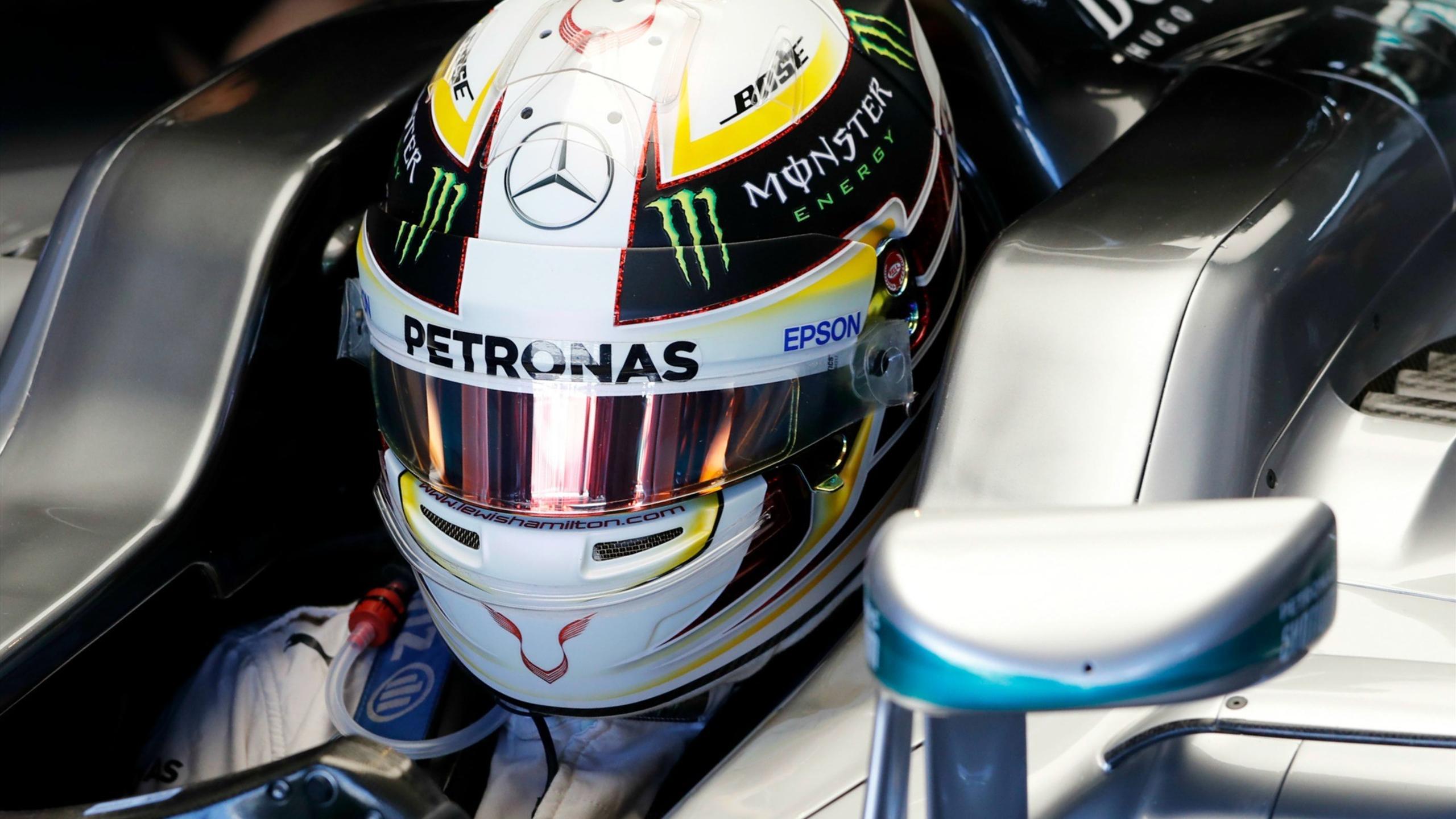 Lewis Hamilton (Mercedes) au Grand Prix d'Allemagne 2016