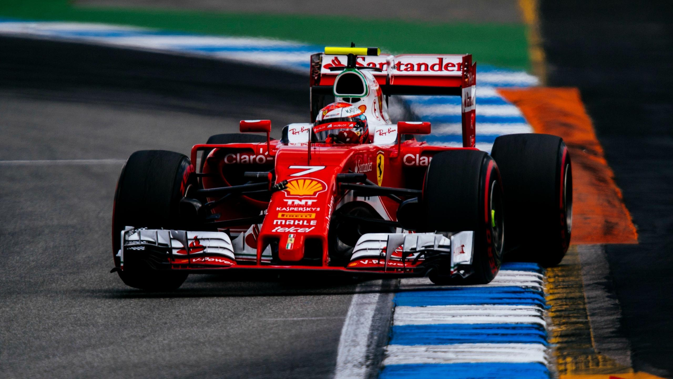 Kimi Räikkönen (Ferrari) au Grand Prix d'Allemagne 2016