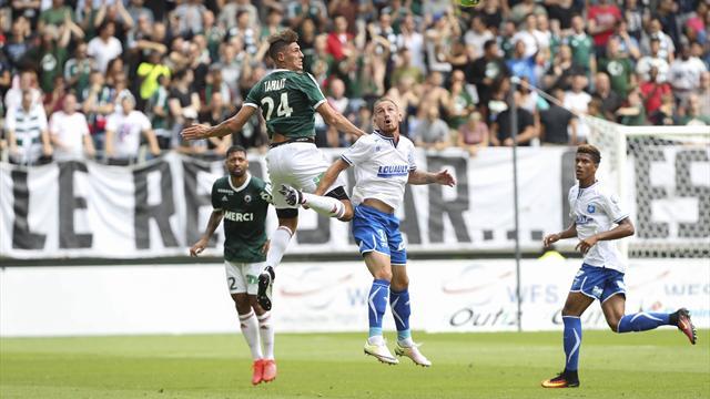 Le Red Star débute timidement contre Auxerre au stade Jean-Bouin