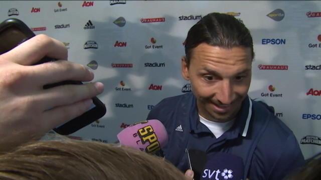 Ibrahimovic : «Mon but ? C'était agréable !»