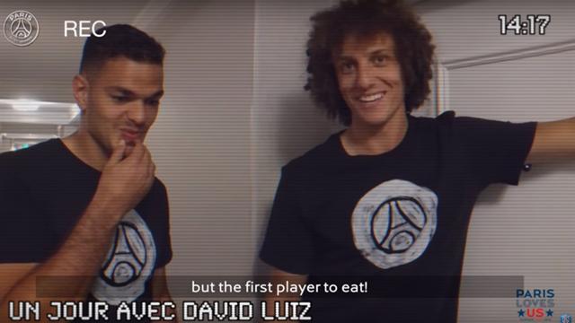 David Luiz : «Hatem, c'est le dernier à l'entraînement mais le premier pour manger»