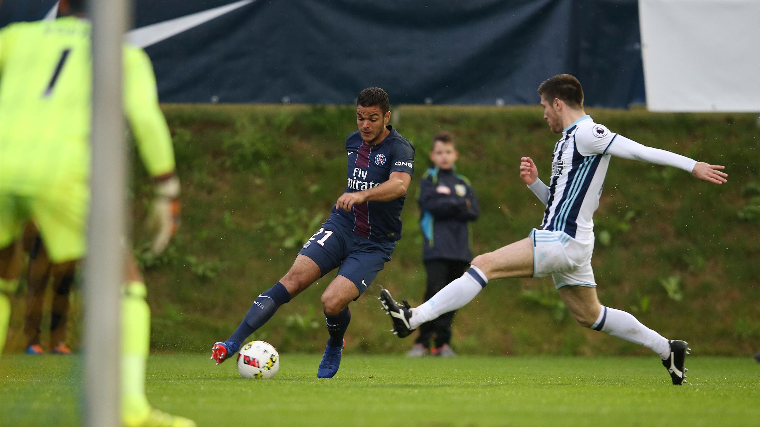 Hatem Ben Arfa contre West Bromwich en amical