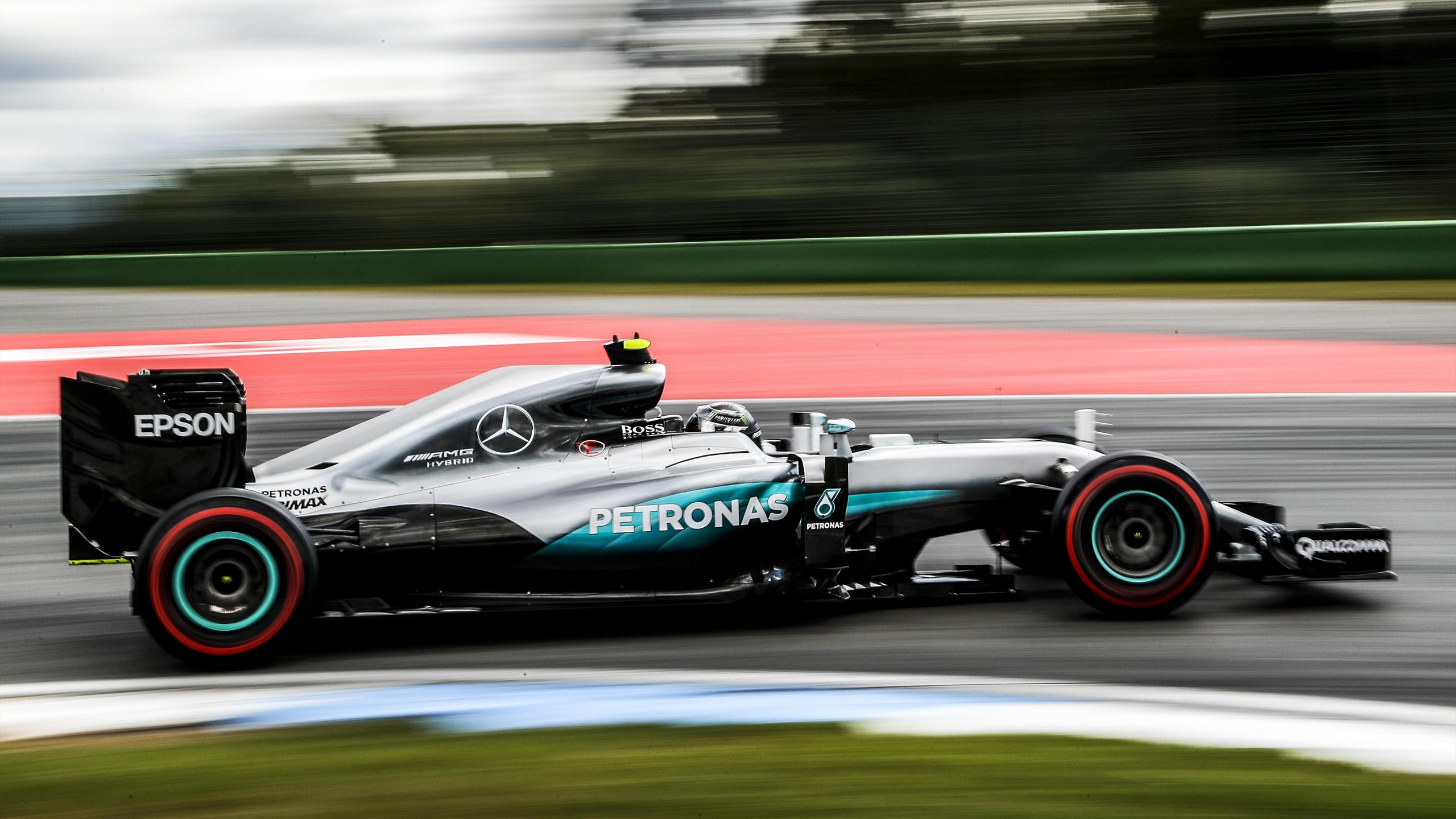 Nico Rosberg (Mercedes) au Grand Prix d'Allemagne 2016