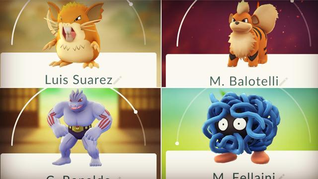 Suarez, Ronaldo, Messi : On a trouvé des stars du foot chez les Pokémons
