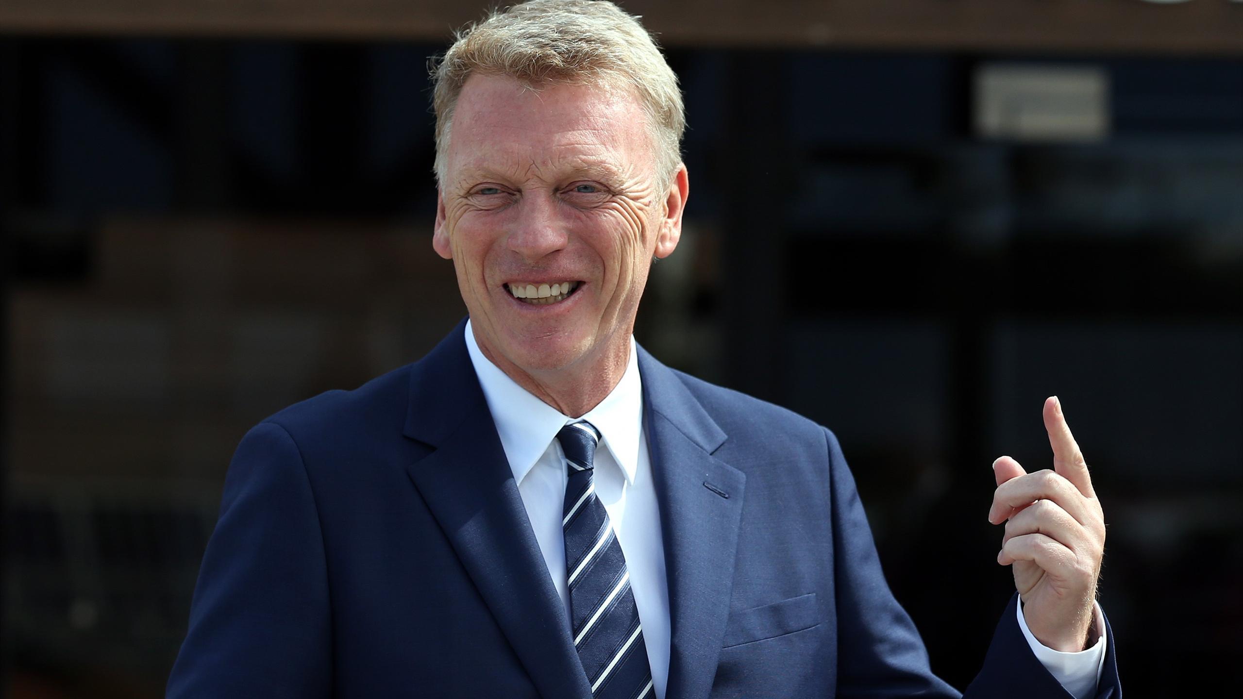 David Moyes, the new Sunderland manager