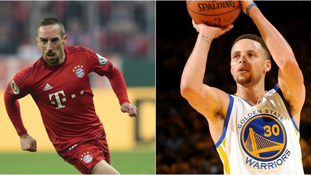 Quand Ribéry se trompe de prénom en parlant de «Stéphane» Curry