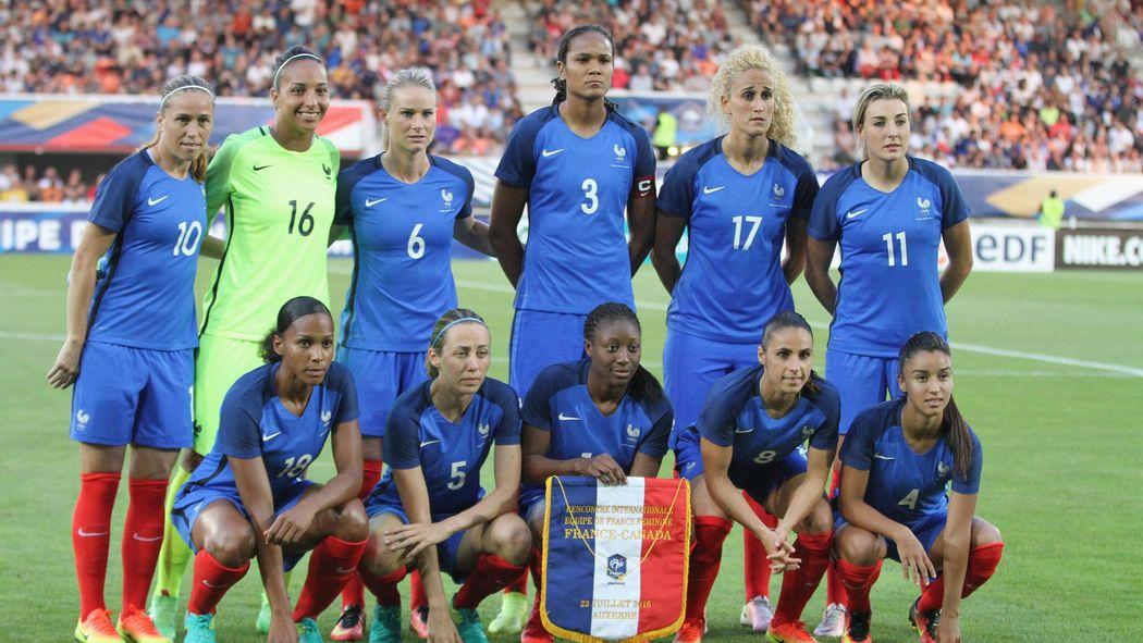 J'aime nos footballeuses, et j'espère qu'elles seront championnes du monde